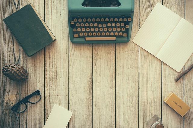prent-typewriter-bloggen-schrijven