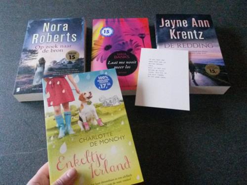 valentijnboekenpakket