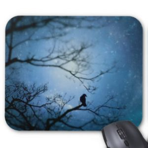 dream_on_little_blackbird_mouse_pad-zazzle